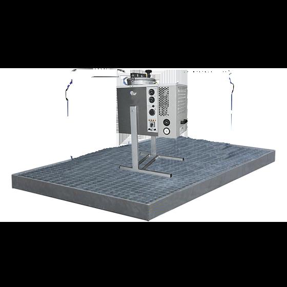 Plancher rétention acier